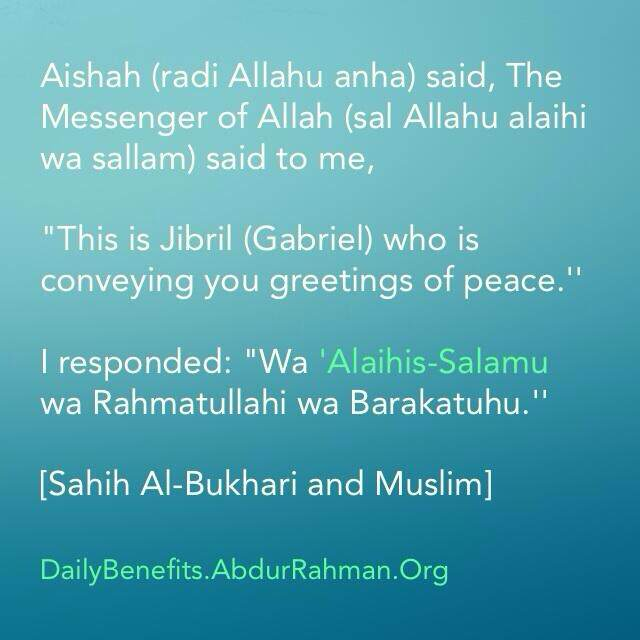 How to respond to the salam of a third person daily islamic benefits advertisements m4hsunfo