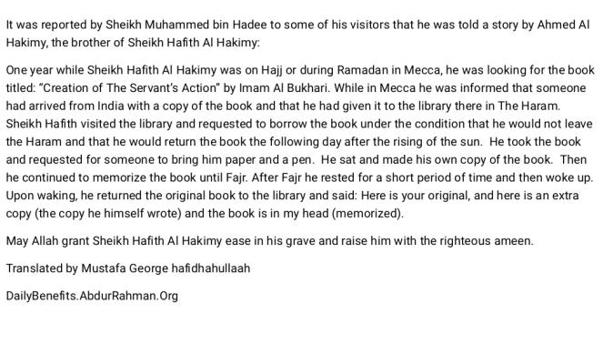 Story about Hafith al Hakamy
